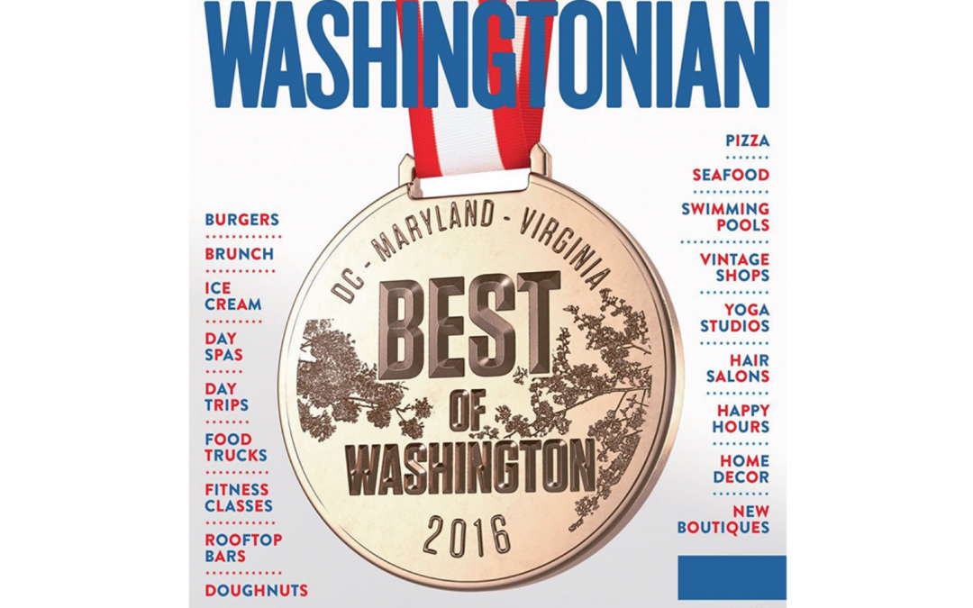 Grooming Lounge Featured in Washingtonian Best Of Issue